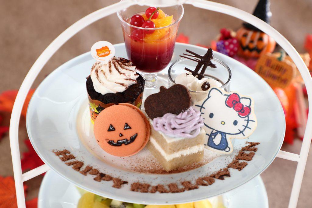 HELLO KITTY Autumn Sweets Partyの期間限定アフタヌーンティーセット