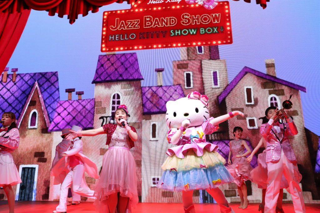 HELLO KITTY JAZZ BAND デビュー作<br> 「HELLO KITTY SHOW BOX」